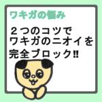 【ノウハウ】夏季はワキガクリームの使い方を工夫すれば効果倍増!!
